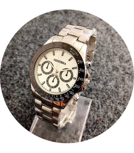W2734 - Contena Silver Strap Men's Fashion Watch