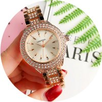 W2761 - Korean large dial women's watch