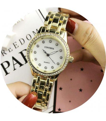 W2776 - Simple rhinestone Contena Watch