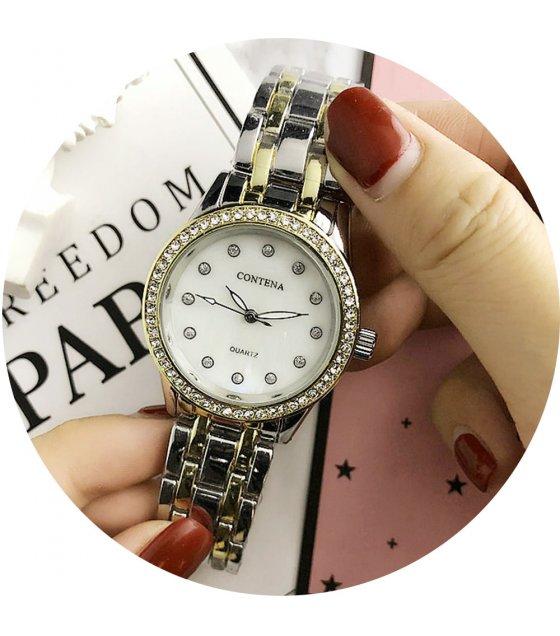 W2778 - Simple rhinestone Contena Watch