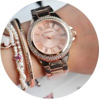 W2781 - Roman diamond elegant small watch