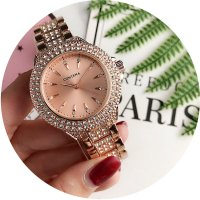 W2785 - Exquisite rhinestone Contena Watch