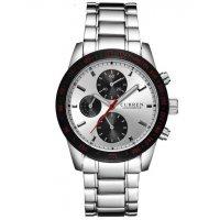 W2819 - Casual steel belt business watch