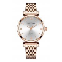 W2832 - High-end casual classic stud alloy ladies watch