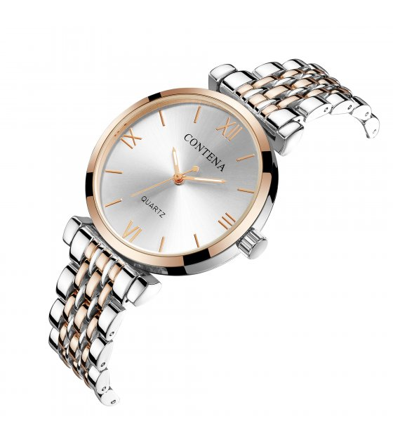 W2834 - High-end casual classic stud alloy ladies watch