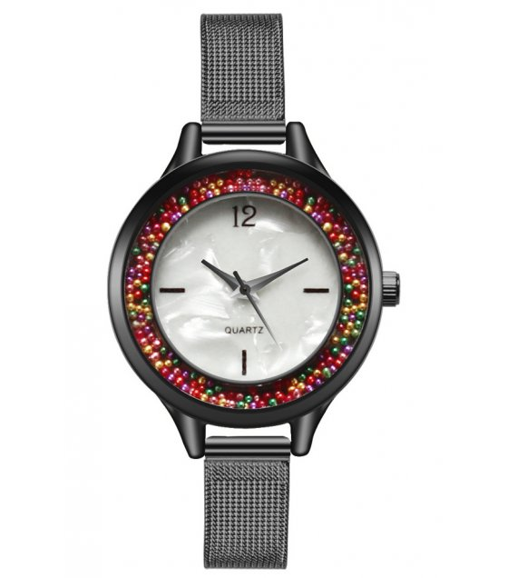 W2841 - Color ball ladies watch