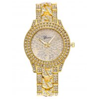 W2843 - High-grade alloy diamond Geneva watch