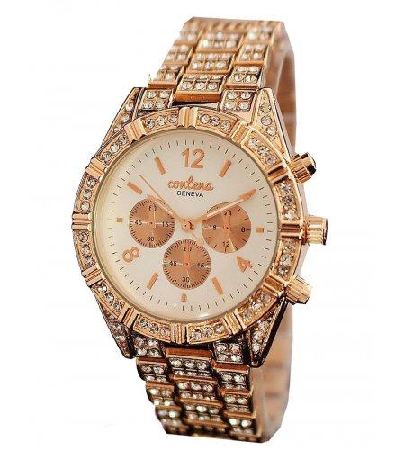 W2847 - Rhinestone Rose Gold Women's Watch