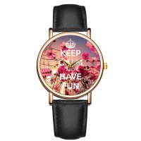 W2923 - Happy flower Casual Watch
