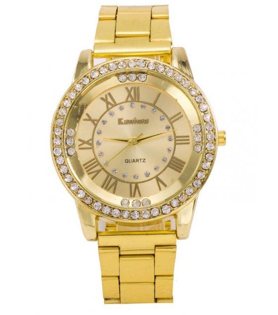 W2944 - Fashion steel belt quartz watch