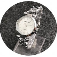 W2958 - Thin Strap Contena Silver Watch