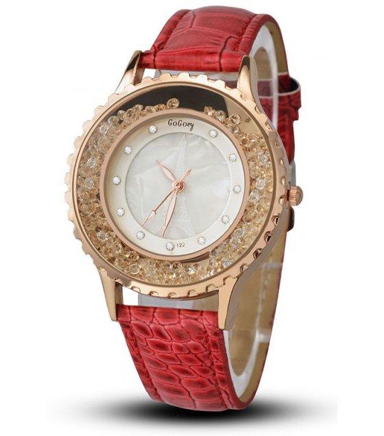 W2960 - Casual Red Fashion Watch