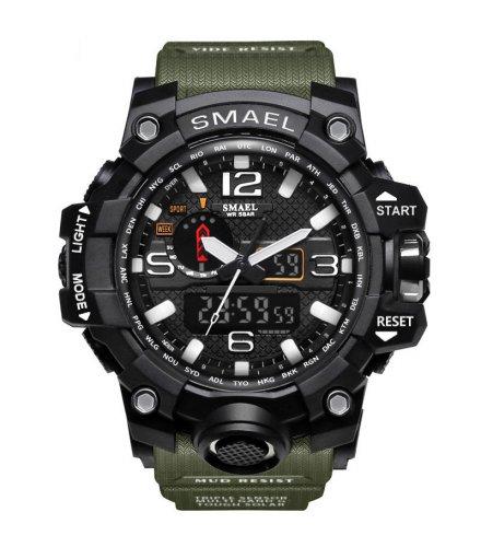 W2970 - Luminous  Dual Display Electronic watch