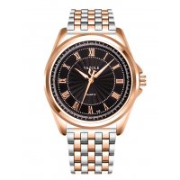 W2979 - Yazole gold steel watch