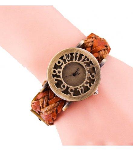 W2986 - Retro hollow watch