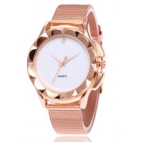 W2988 - Elegant fashion steel mesh belt watch