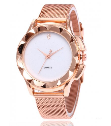 W2988 - Elegant fashion steel mesh belt watch