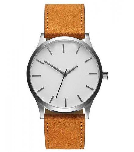 W2992 - Simple matte belt quartz watch