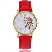 W3007 - Retro Floral Watch