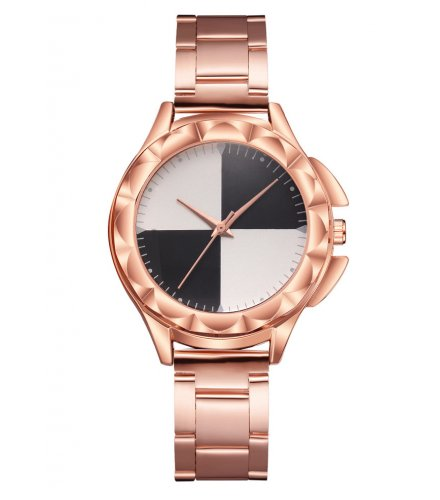 W3021 - Exquisite Steel Belt Watch