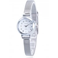 W3056 - Silver Mesh Belt Watch