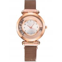 W3057 - Brown Mesh Belt watch
