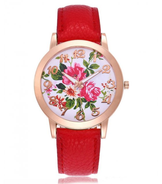 W3062 - Fashion Flower Casual Watch