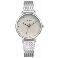 W3064 - Simple silver Mesh Belt Watch