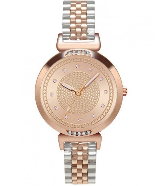 W3072 - Rose Gold Quartz Fashion Watch