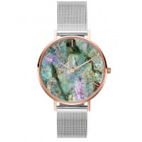 W3078 - Colorful Mesh Belt Watch
