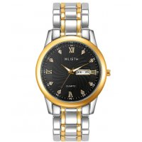 W3087 - Silver Two Toned Men's Fashion Watch