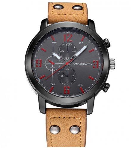 W3091 - Hannah Martin Men's Sports Quartz Watch