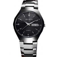 W3100 - Simple Black Men's watch