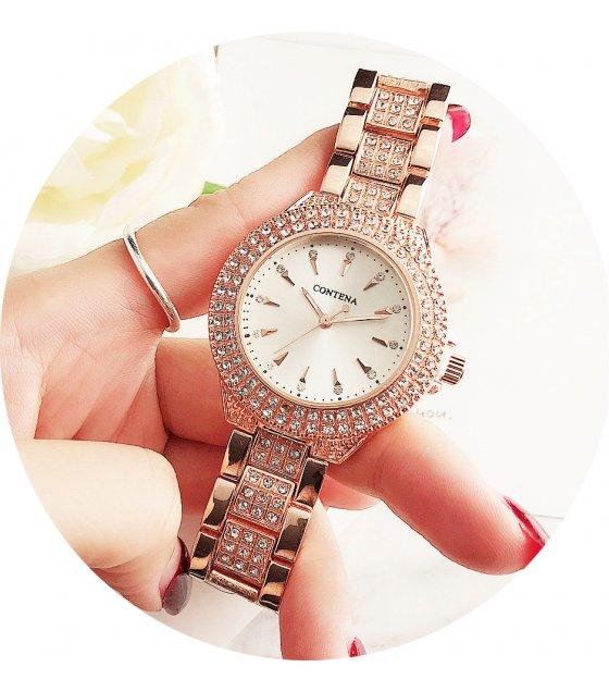 W3129 - Trendy Contena Rhinestone Fashion Watch