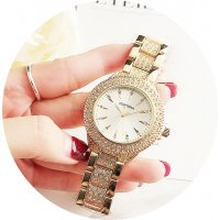 W3130 - Trendy Contena Rhinestone Fashion Watch