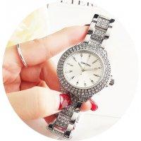 W3131 - Trendy Contena Rhinestone Fashion Watch