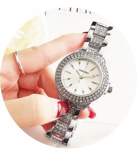 W3131 - Trendy Contena Rhinestone Fashion Watch