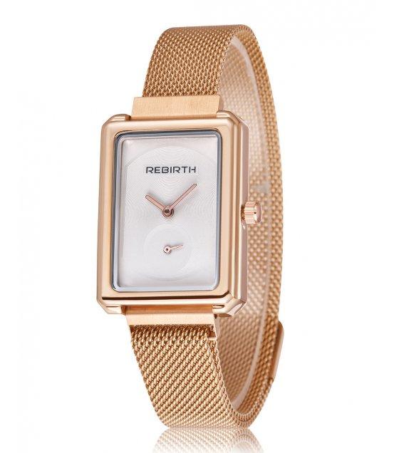 W3142 - Rectangular steel belt Watch