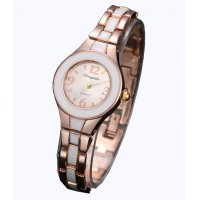 W3163 - Rose Gold Black Dial women's Watch