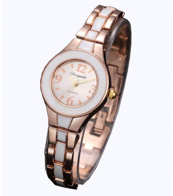 W3163 - Rose Gold Black Dial women's Watch