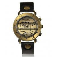 W3171 - WoMaGe Music Symbol Casual Korean Fashion Women's Watch