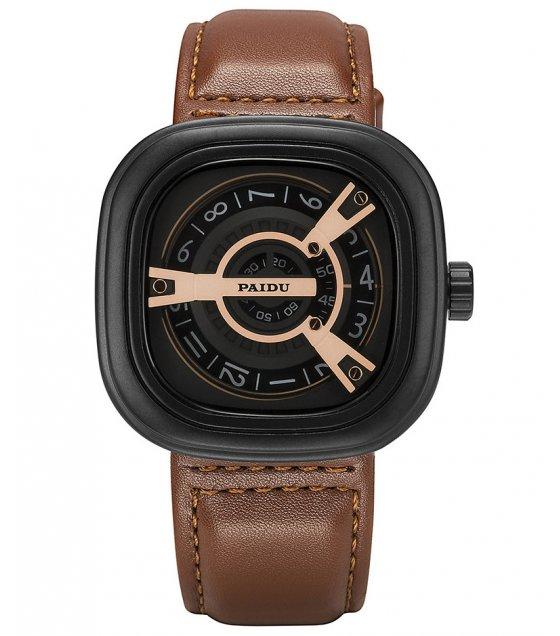 W3176 - PAIDU casual leather men's Fashion watch