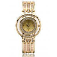 W3177 - Hollow  Rhinestone Quartz Women's Casual Fashion Watch