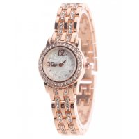 W3179 - Simple diamond-studded ladies bracelet watch