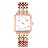 W3189 - Elegant Square Stainless Steel Women's Watch