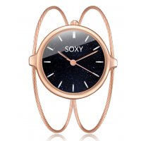 W3205 - Soxy Wire Design Bracelet Watch