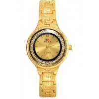 W3206 - Ladies rhinestone retro watch
