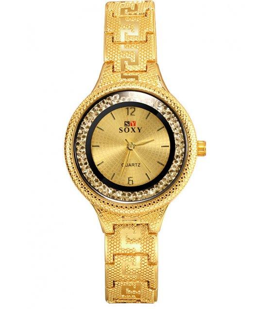 W3206 - Ladies rhinestone retro watch