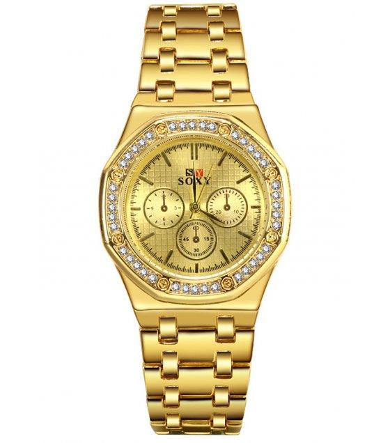 W3207 - Rhinestone retro watch