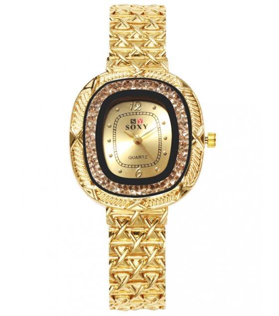 W3210 - Soxy ladies rhinestone watch